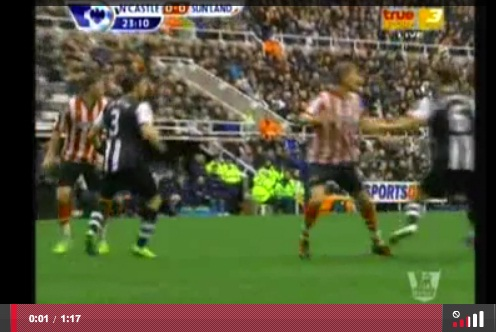 Newcastle United 1-1 Sunderland